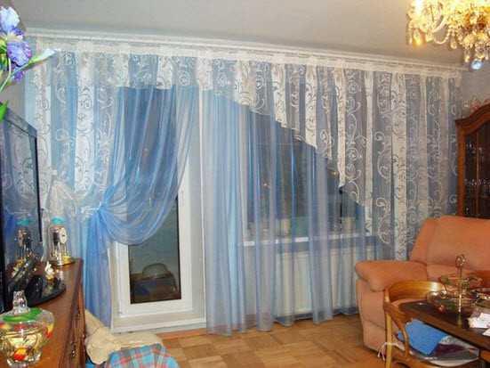 Не все шторы подойдут для декорирования оконного проема и балконной двери.