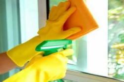 Очистка пластиковых окон