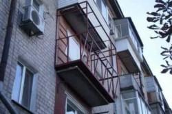 Укрепление каркаса балкона
