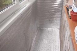 Процесс утепления балкона в хрущевке