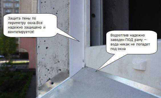 Отделка откоса окна своими руками 637