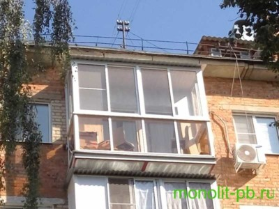 холодный балкон
