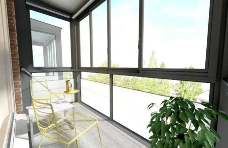 панорамный балкон от Сателс