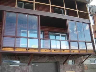 францзские окна для панорамного остекления
