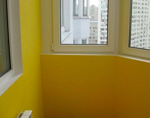 стены после покраски