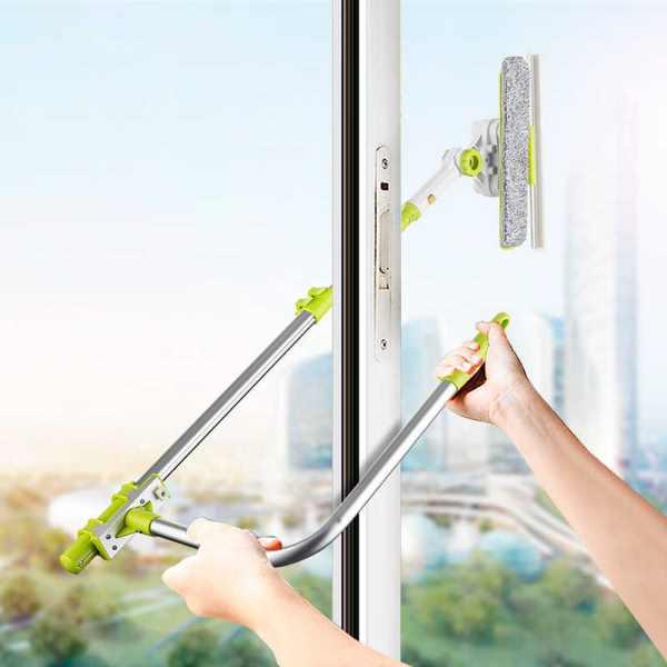 устройство для мойки грухих окон на высоком этаже