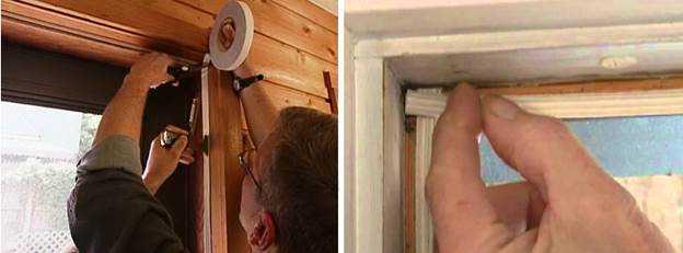 утепление дереянной двери