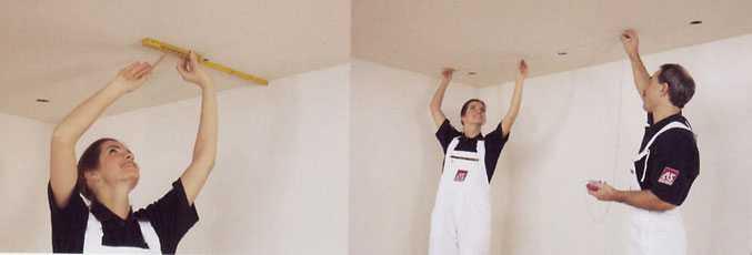 Рзаметка потолка на лоджии