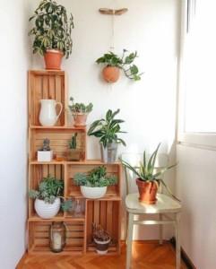 Идеи для хранения вещей на балконе